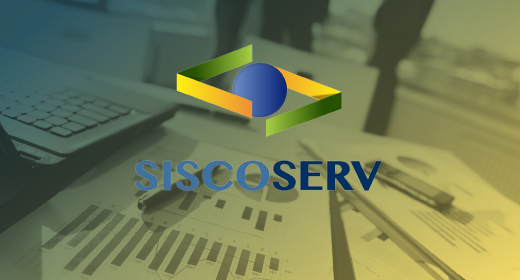 REGISTRO NO SISCOSERV SUSPENSO TEMPORARIAMENTE